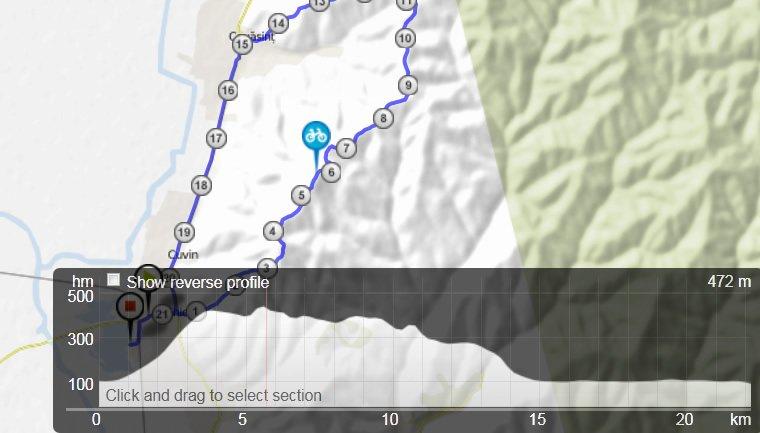 aventuri pe bicicleta traseu ghioroc - covasant ghioroc